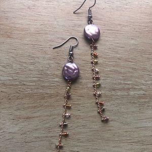 Carston beaded earrings